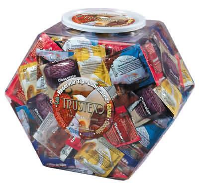 Trustex Asst. Flavor Condoms 288 pc.