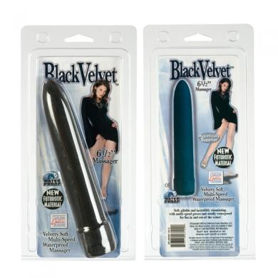 Black Velvet 6.5 inch Massager