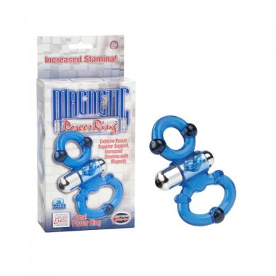 Magnetic Power Ring Dual Blue