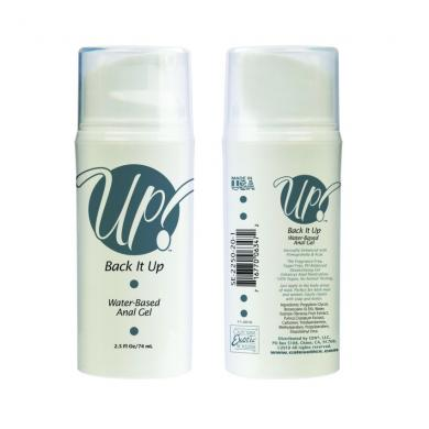 Up!- Back It Up Water-Based Anal Gel