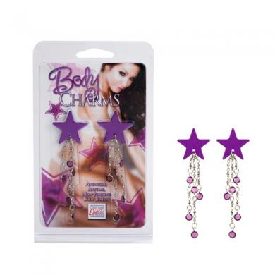Body Charms Purple Star