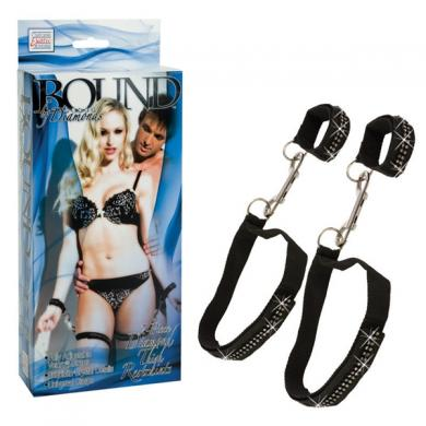 Bound By Diamonds Thigh Restraints