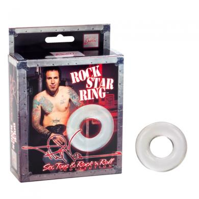 Phil Varone Rock Star Ring Clear