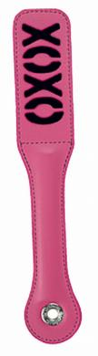 Sex & Mischief Feather xoxo Paddle - Pink