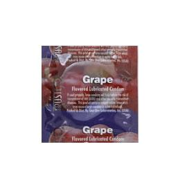 Grape Flavored Condom 3 pack