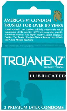 Trojan Enz Lubricated 1 - 3 pack