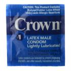 Crown Latex Male Condoms 48 Pack Bulk Sex Toy Product