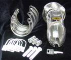 Cb-6000s Male Chastity Device 2 1/2in cock cage and lock set - clear	 Sex Toy Product