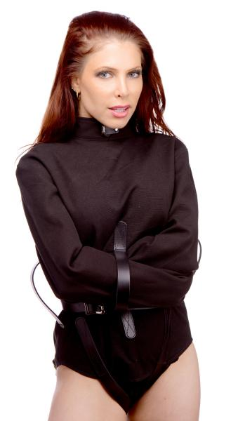 Strict Leather Black Canvas Straitjacket Small Sex Toy Product