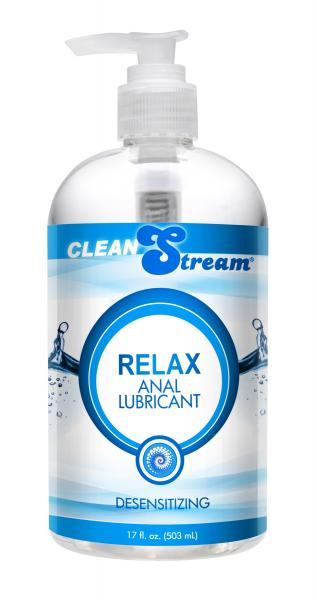 Clean Stream Relax Desensitizing Anal Lube 17.5oz. Sex Toy Product