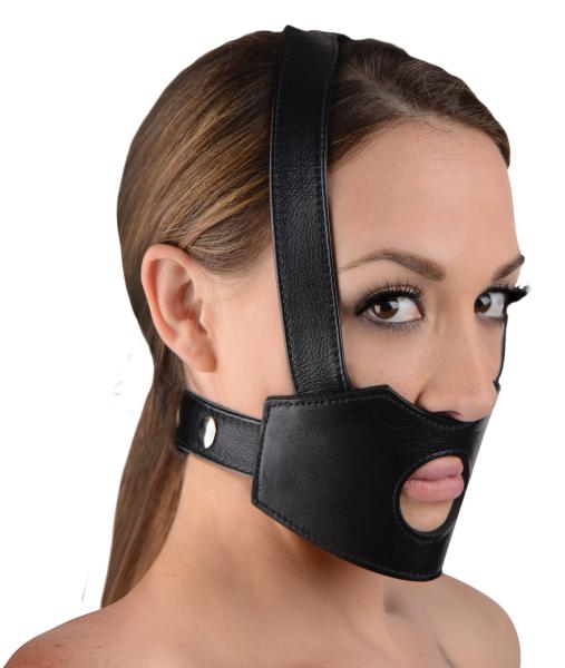 Face Fuk II Dildo Face Harness Black Sex Toy Product