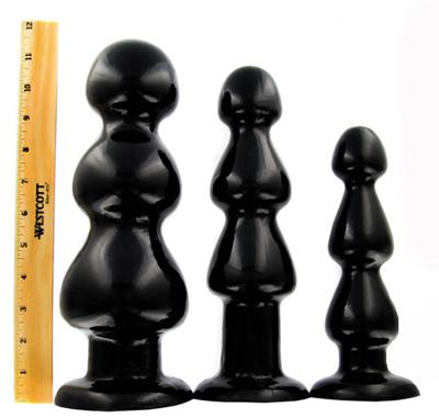 Three Bumps For Your Rump Butt Plug Medium Sex Toy Product