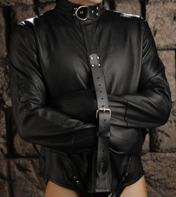 Strict Leather Premium Straightjacket- Large Sex Toy Product