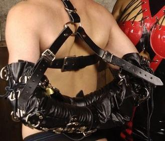 Strict Leather Deluxe Arm Binder Restraint Sex Toy Product