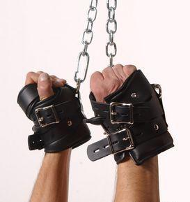 Strict Leather Premium Suspension Wrist Cuffs Sex Toy Product