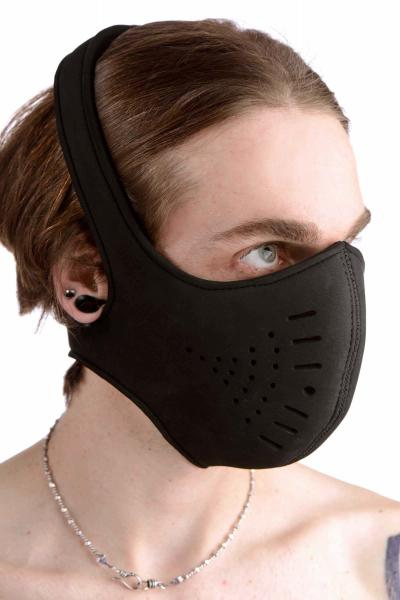 Neoprene Snap On Face Mask Sex Toy Product