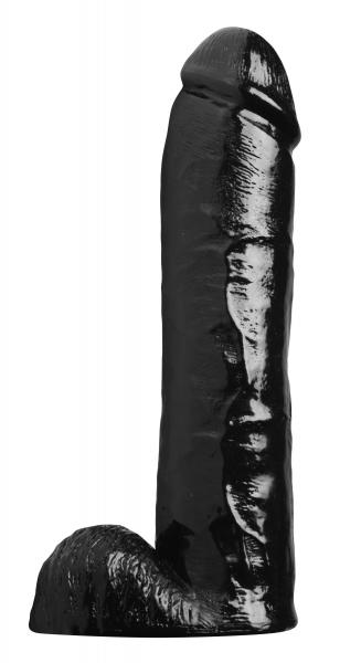 Towering Tyrone Huge Black Dildo Sex Toy Product