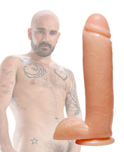 Raging Cockstars Iron Isaac 8.75 Inch Realistic Dildo Sex Toy Product