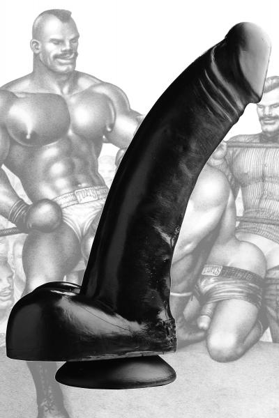 Tom Of Finland Black Magic Realistic Dildo Sex Toy Product