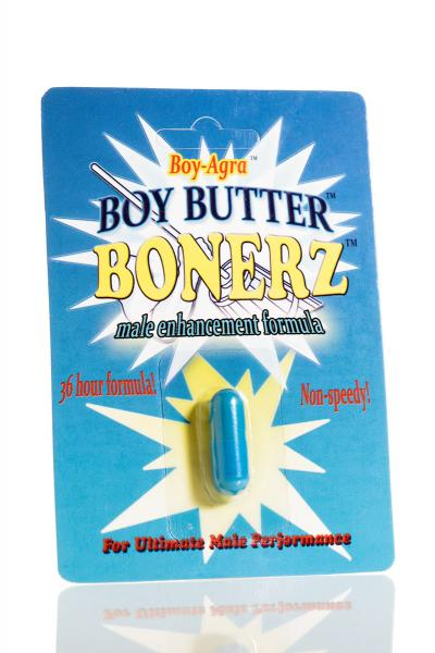 Boy Butter Bonerz with Boy-Agra All Natural Male Enhancement 36-hour Sex Toy Product
