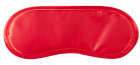 Guilty Pleasure Velvet Soft Eye Mask and Tickler Red, Black Sex Toy Product