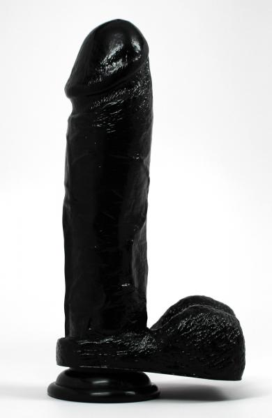Mitch Realistic Dildo Black Bulk Sex Toy Product