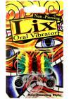 Lix Non Piercing Oral Vibrator Rasta Multicolor Sex Toy Product