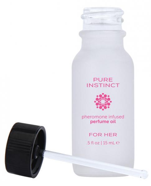 Pure Instinct Pheromone Perfume Oil For Her .5oz.