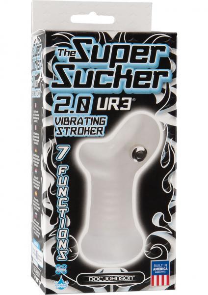 The Super Sucker 2.0 Vibrating Stroker