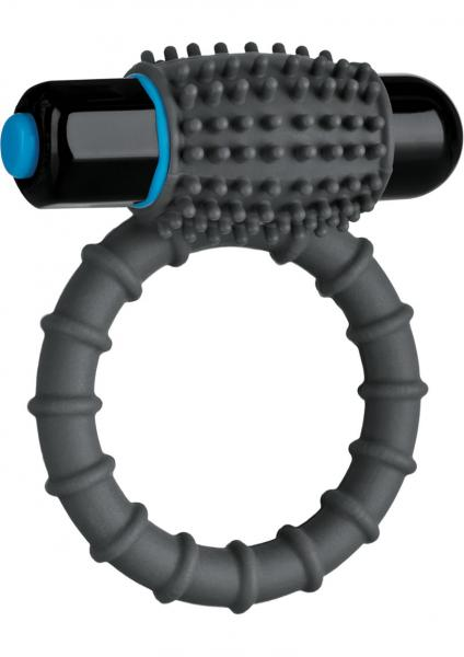 Optimale Silicone Vibrating C-Ring Waterproof Slate