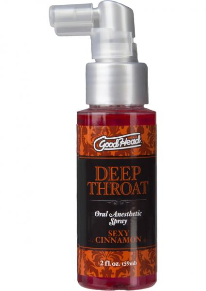 Goodhead Deep Throat Spray Sexy Cinnamon 2oz