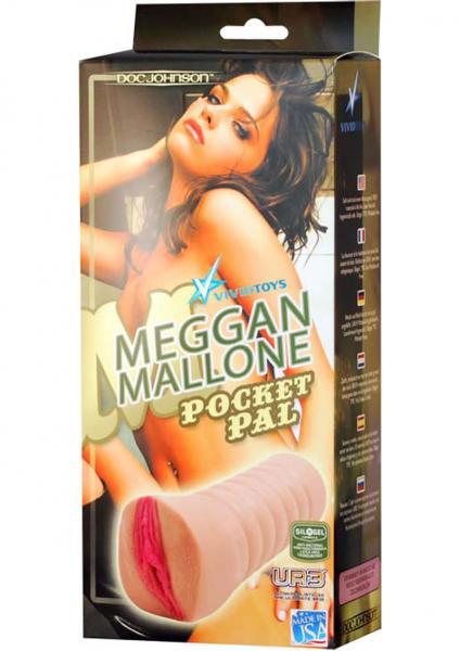 Meggan Mallone Realisitc Pocket Pal Pussy Masturbator