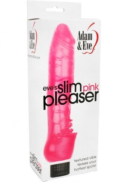Eve's Slim Pink Pleasure Vibrator