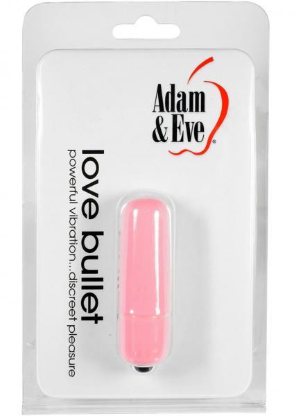 Adam & Eve Love Bullet Vibrator Pink