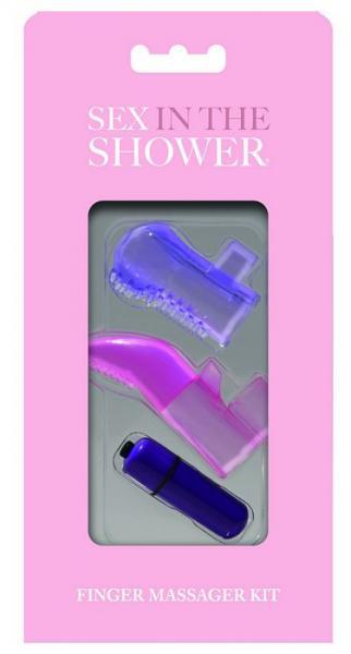 Sex In The Shower Finger Massager Kit