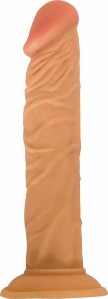 All American Whopper Vibrating 8 Inches Dildo Beige