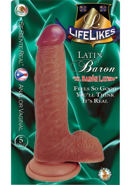 Lifelikes Latin Baron Dildo