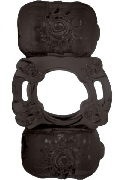 The Macho Stallions Partners Pleasure Ring Waterproof Black