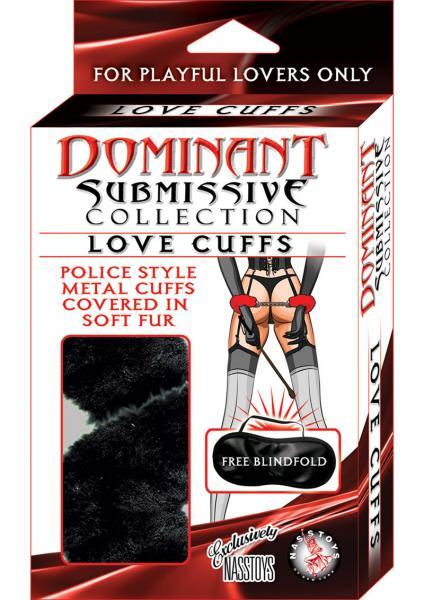 Dominant Submissive Love Cuffs Black