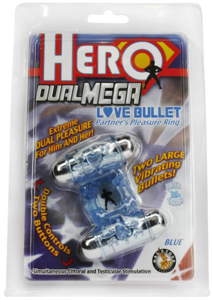 Hero Dual Mega Love Bullet Blue