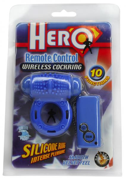 Hero Remote Control Wireless C Ring Waterproof - Blue