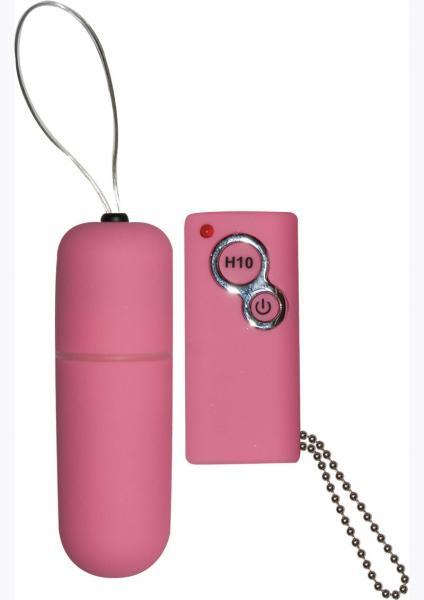 Power Slim Bullet Remote Control Waterproof 2.5 Inch Pink