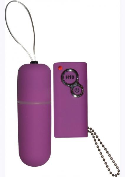 Power Slim Bullet Remote Control Waterproof 2.5 Inch Purple
