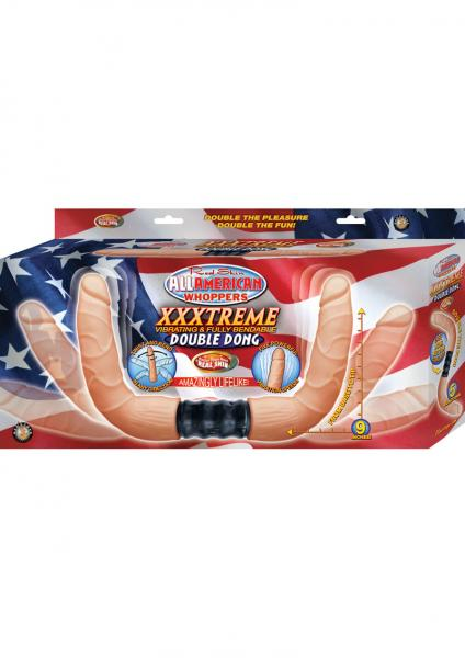 Xxxtreme Vibrating And Fully Bendable Double Dong