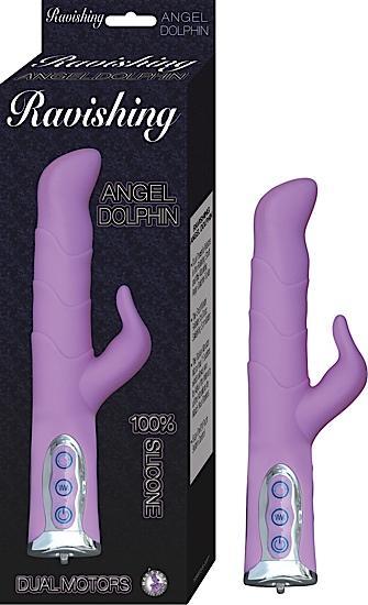 Ravishing Angel Dolphin Purple Vibrator
