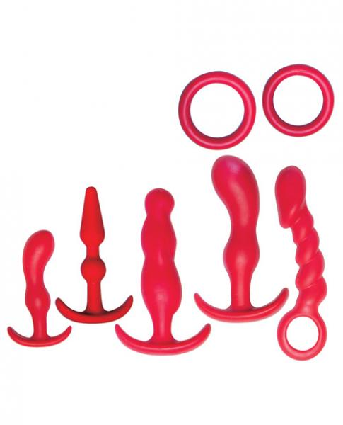 Ultimate Anal Kit Red 7 Unique Items