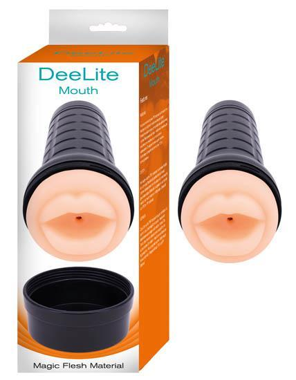 Dee Lite Mouth Magic Flesh Material Beige