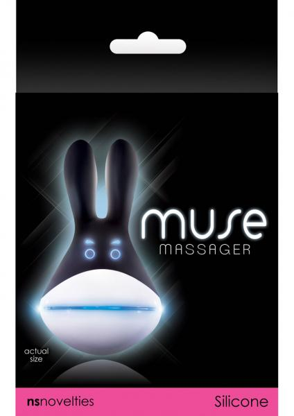 Muse Silicone Rechargeable Massager Waterproof Black