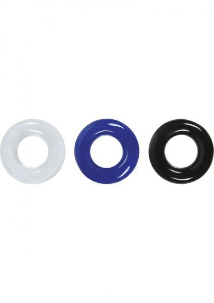 Renegade Stamina Rings Set 3 Assorted Colors