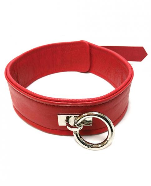 Rouge Plain Collar 1 Ring Red